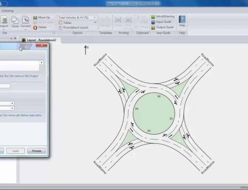 Como trocar dados entre SIDRA Intersection e Aimsun Next